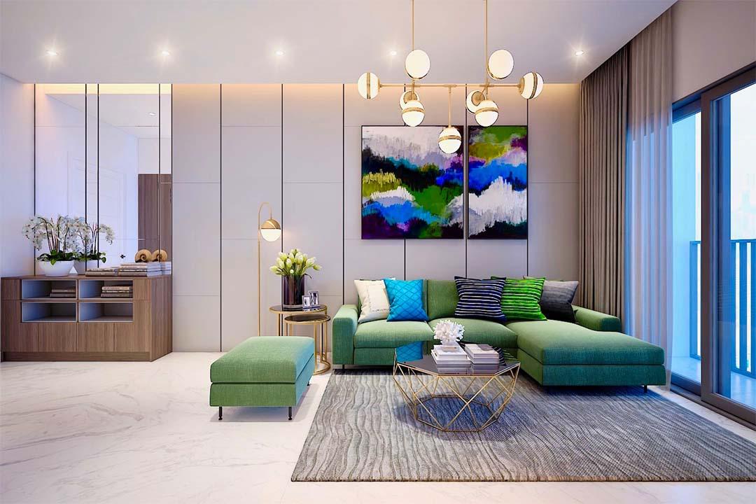 Căn hộ 3 phòng ngủ Safira Khang Điền