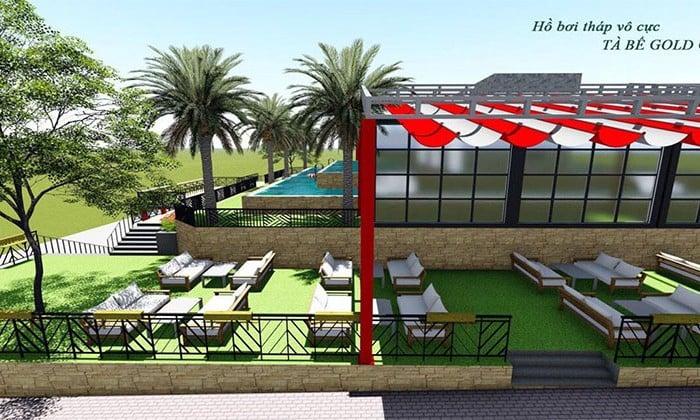 Không gian sống xanh tại Tà Bế Gold City