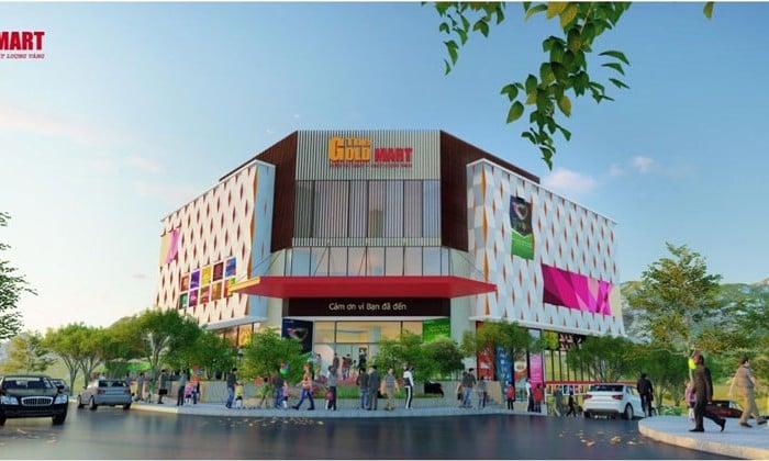 Trung tâm thương mại tại dự án tà bế gold city