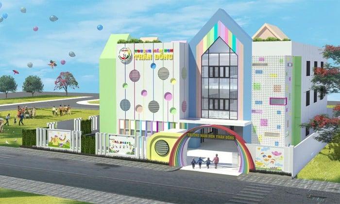 Trường mầm non trong khu đô thị Tà Bế Gold City